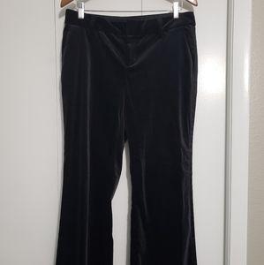 4/$25 Banana Republic stretch velvet pants. 10